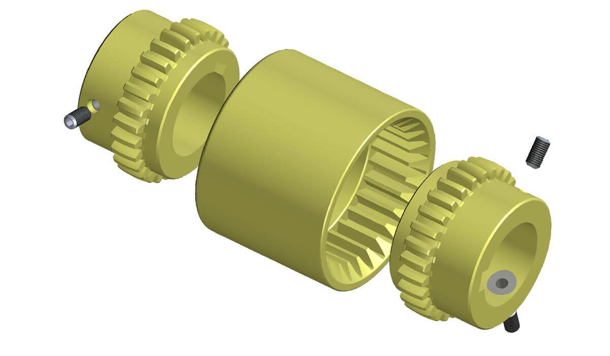 Acoplamentos de Engrenagem SITEX® NYLEX