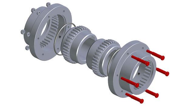 Acoplamentos de Engrenagem SITEX® ST CF AGMA